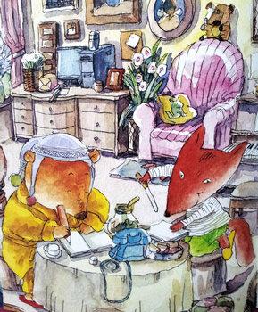 幼儿文学:笨小熊的魔力电话