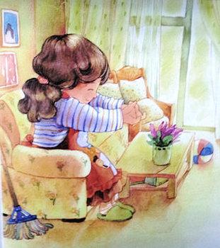 幼儿文学:围裙妈妈的红围裙