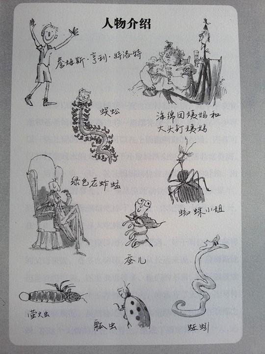 读书笔记插画精美手绘